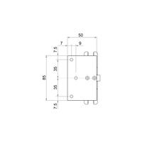 Slika: CO CER401S-AF1 (8100) Spojnica automatska ZAMAKNUTA 0 + 90˚- 90˚