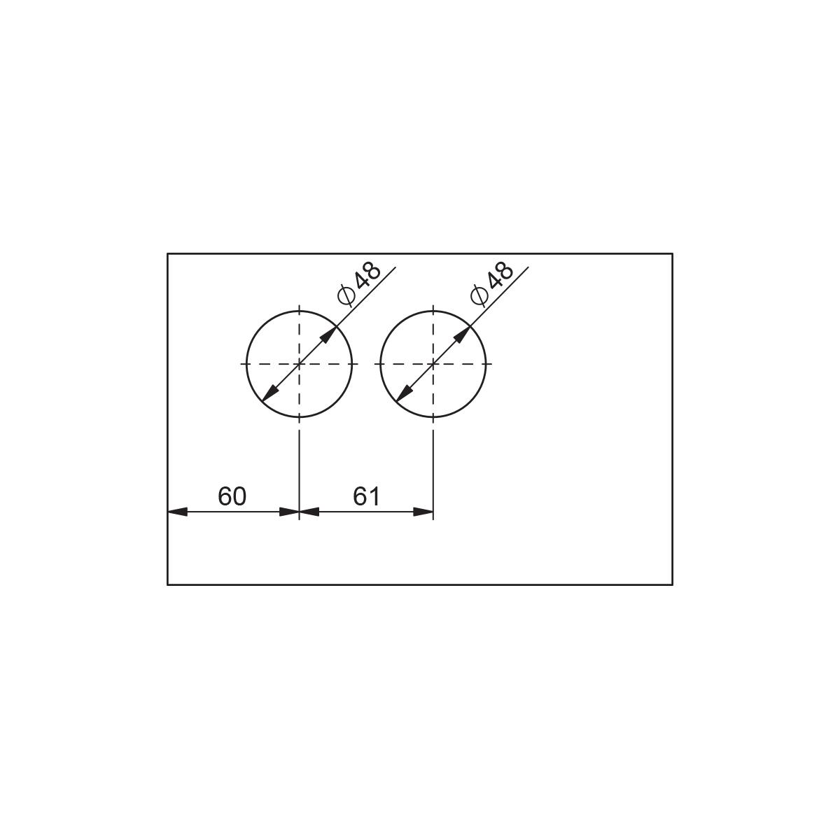 Slika: SA CU01-87A-19 CRNA Brava za cilindar