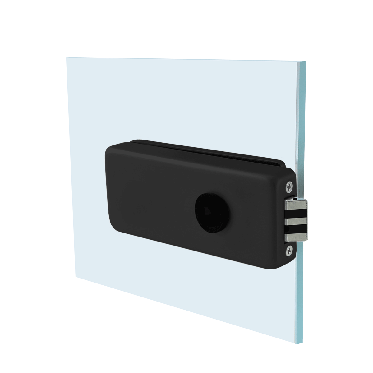 Picture of SA CU01-87A-19B BLACK Doorhandle lock
